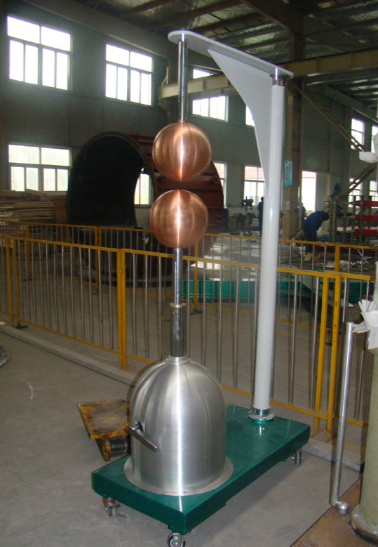Horizontal Amp Vertical Sphere Gap Samgor High Voltage Test